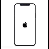 iPhone XS bloqué logo Apple
