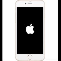 iPhone 8 bloqué logo Apple