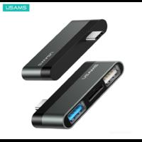 USAMS Hub USB-C (2USB + Micro SD)