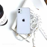 Coque Antichoc Cordon Blanc iPhone XR