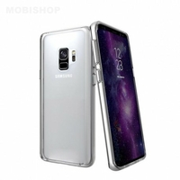 Goospery coque silicone transparente Galaxy S9