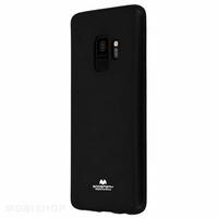 Goospery coque silicone Galaxy S9 noir