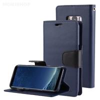 GOOSPERY BRAVO DIARY Galaxy S8 bleu