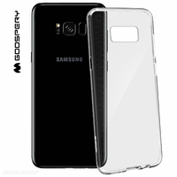 Goospery coque silicone transparente Galaxy S8+