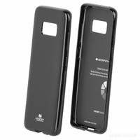Goospery coque silicone Galaxy S8+ noir