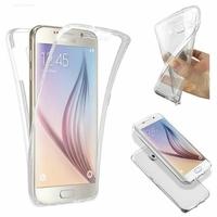 Coque 360 intégrale souple transparente Galaxy S6 Edge