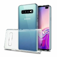 Goospery coque silicone transparente Galaxy S10+