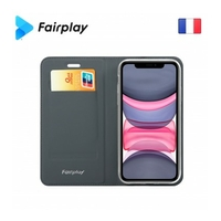 Fairplay Epsilon Galaxy A40 A405F gris ardoise