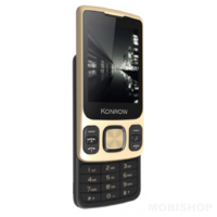 Konrow Slider Ecran 2.4'' Double Sim Or