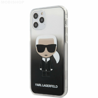 Coque Karl Lagerfeld silicone iPhone 12