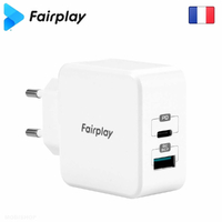 FAIRPLAY MONZA Chargeur 30W USB-A-C