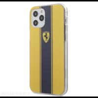 Coque Ferrari iPhone 12 / 12 Pro jaune