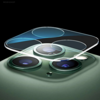 Film en verre intégral transparent pour caméra arrière iPhone 11 Pro
