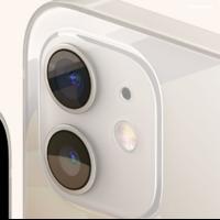 Film en verre intégral transparent pour caméra arrière iPhone 12