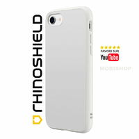 Coque Rhinoshield SolidSuit Classic blanche iPhone 7 8 SE 2020