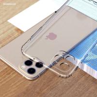"""Coque silicone iPhone 12 (6.1"""") antichoc avec protection de la lentille intégrée"""