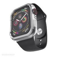 Hoco bracelet noir et coque silicone intégrées pour Apple Watch 38-40mm