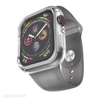 Hoco bracelet gris et coque silicone intégrées pour Apple Watch 38-40mm