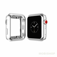 Coque Dux Ducis silicone chrome pour Apple Watch 42mm