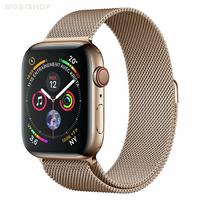 Bracelet en metal or pour Apple Watch 38/40mm