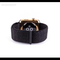 Bracelet en tissus noir pour Apple Watch 38/40mm