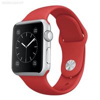 Bracelet en silicone rouge pour Apple Watch 38/40mm