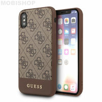 Coque Guess marron iPhone X XS