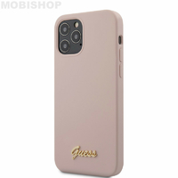 Coque Guess iPhone 12 Pro Max rose