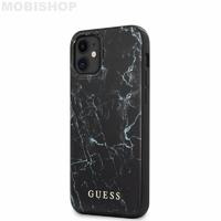 Coque Guess iPhone 12 Mini marbre noir