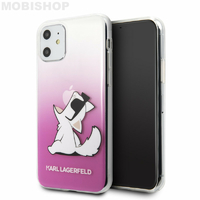 Coque Karl iPhone 11 Choupette
