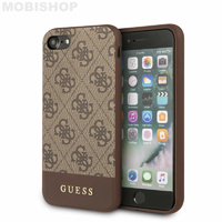 Coque Guess iPhone 7 8 SE 2020 marron