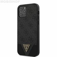 Coque Guess iPhone 12 / 12 Pro noir