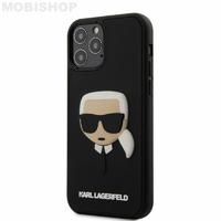 Coque Karl iPhone 12 / 12 Pro 3D noir