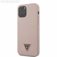 Coque Guess iPhone 12 Pro Max rose sable