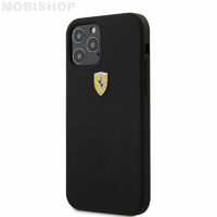 Coque Ferrari iPhone 12 Pro Max noir
