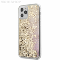 Coque Guess iPhone 12 / 12 Max paillettes