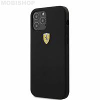 Coque Ferrari iPhone 12 / 12 Pro noir