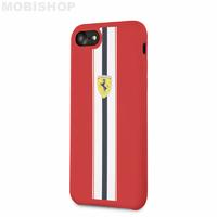 Coque Ferrari iPhone 7 8 SE 2020 rouge
