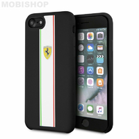 Coque Ferrari iPhone 7 8 SE 2020 noir