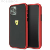 Coque Ferrari iPhone 11 Pro Max rouge et noir