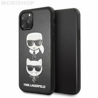 Coque Karl iPhone 11 Pro Max Choupette et Karl Largefeld