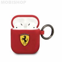 Coque AirPods 1 / 2 Ferrari rouge
