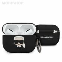 Coque AirPods Pro Karl Lagerfeld noir