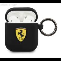 Coque AirPods 1 / 2 Ferrari noir