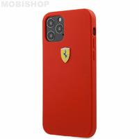 Coque Ferrari iPhone 12 Pro Max rouge