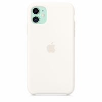Coque Apple en silicone pour iPhone 11 - Blanc coton