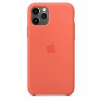 Coque Apple en silicone pour iPhone 11 Pro - Clémentine