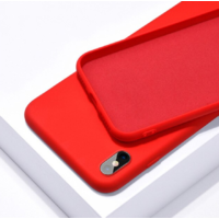 Coque silicone iPhone 6 6S rouge