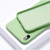 Coque silicone iPhone 6 6S vert