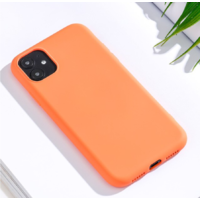 Coque silicone iPhone 6 6S orange